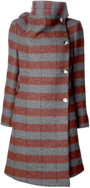 Vivienne Westwood Red Label High Neck Coat - Lyst