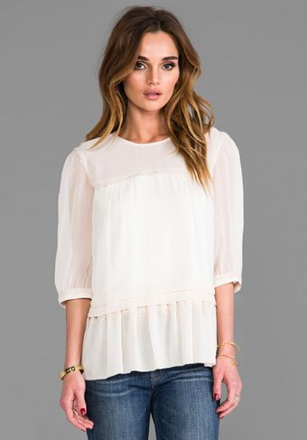 Alice By Temperley Deity Top in Blush - Lyst