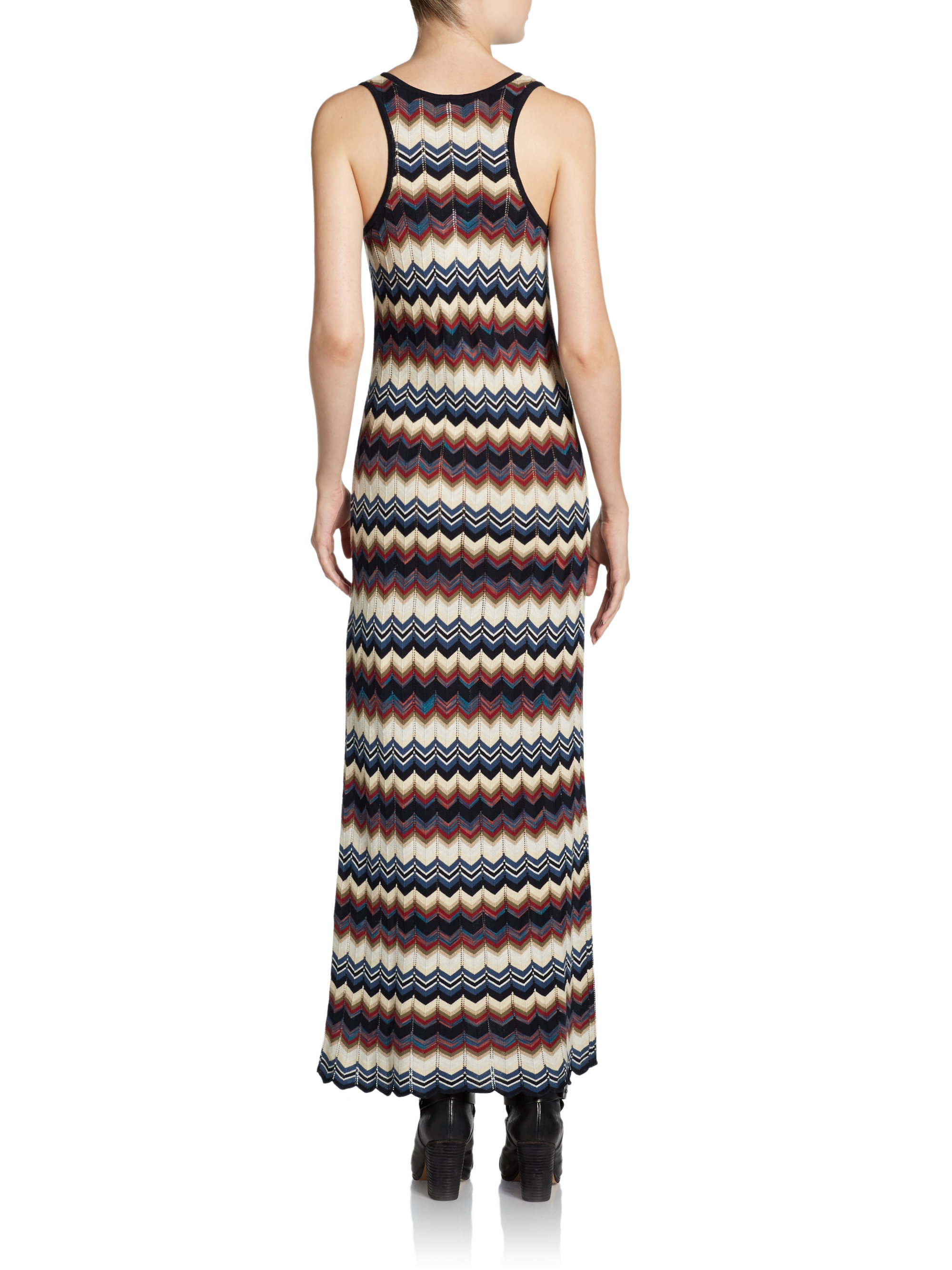 Autumn cashmere maxi dress