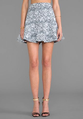 Bec&bridge Ocealaris Skirt in Gray - Lyst