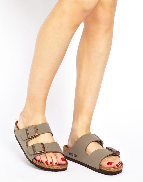 New   Birkenstock Arizona Soft Footbed Suede Narrow Sandal  Womens