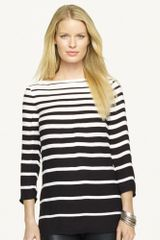 Black Label Striped Linette Tunic - Lyst