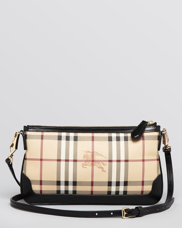 def46a6c9b39 Lyst - Burberry Shoulder Bag Haymarket Patent Colours Peyton Mini in ...