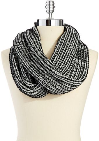 Calvin Klein Vertical Striped Scarf - Lyst