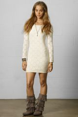 Denim & Supply Lace Bodycon Dress - Lyst