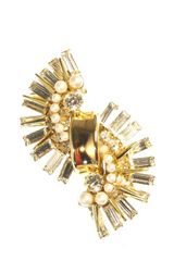 Elizabeth Cole Ornate Ear Cuff - Lyst