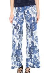 Jean Paul Gaultier Printed Pants - Lyst