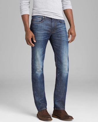 Joe's Jeans Jaxon Brixton Slim Straight Fit in Medium Blue - Lyst