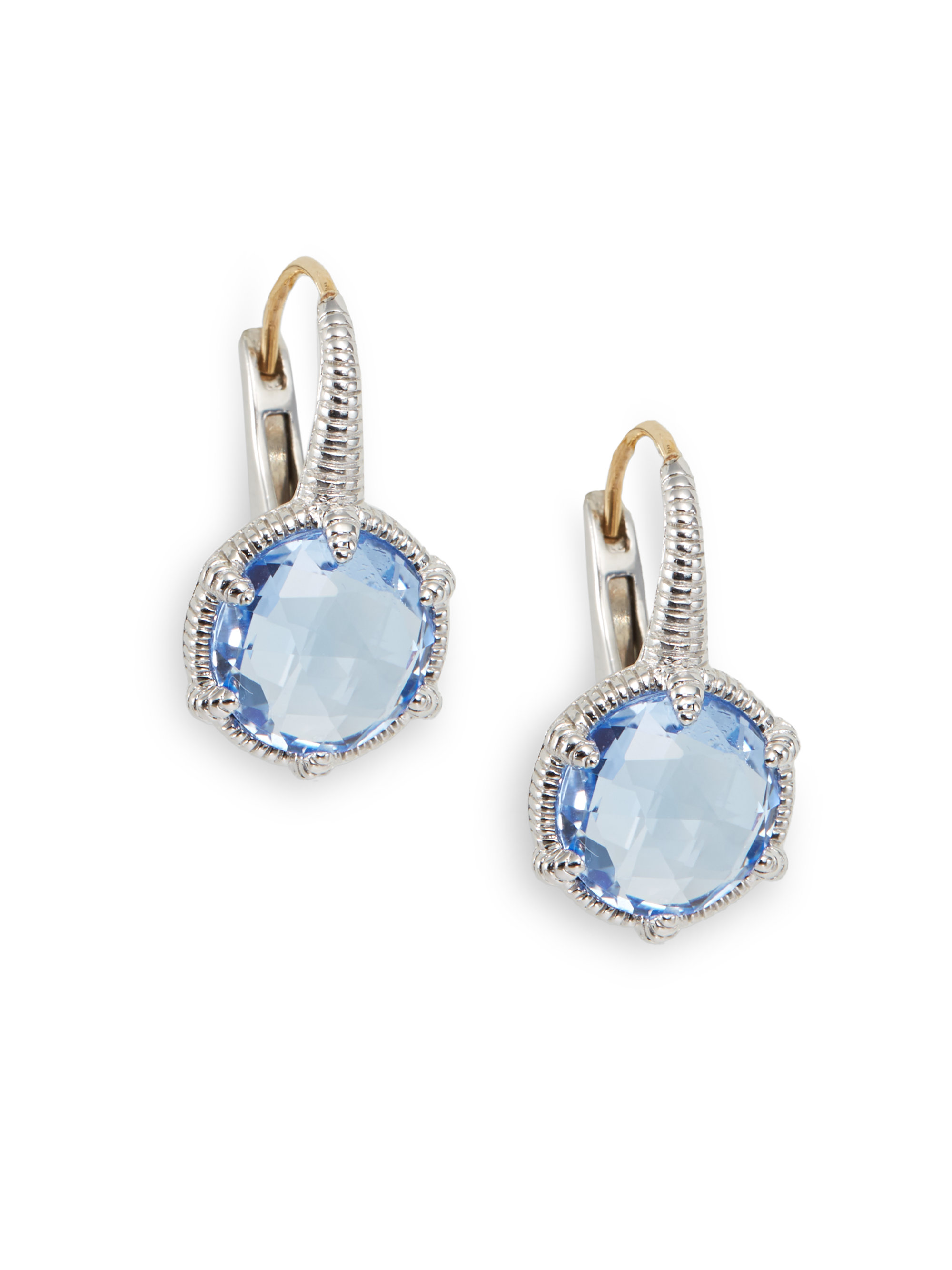 blue earrings asp gemstone stud stone p