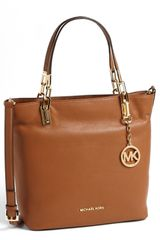 Michael by Michael Kors Brooke Medium Leather Tote - Lyst
