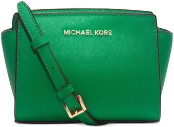 Michael Kors Selma Mini Messenger Bag - Lyst
