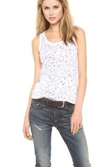 Rag & Bone Constellation Tank - Lyst