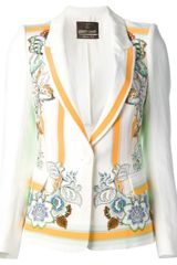 Roberto Cavalli Tailored Blazer - Lyst