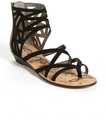 Sam Edelman Dana Leather Sandal - Lyst
