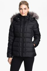 The North Face Gotham Faux Fur Trim Down Jacket - Lyst