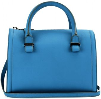 Victoria Beckham Seven Leather Bowling Bag - Lyst