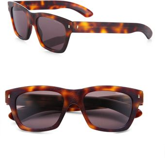 Yves Saint Laurent Retro Plastic Sunglasses - Lyst