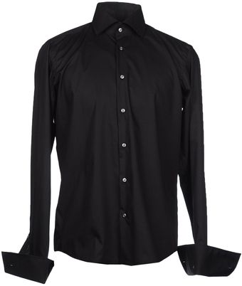 Boss Black Long Sleeve Shirt - Lyst