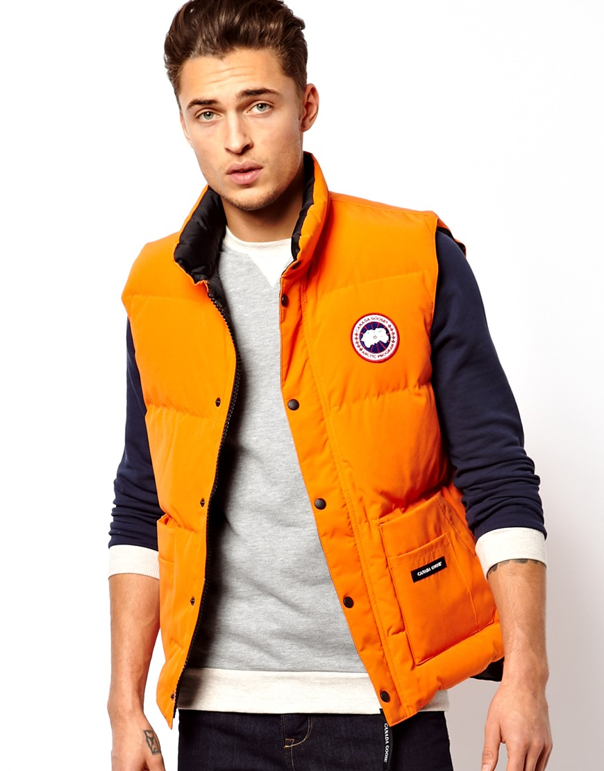 canada goose freestyle vest homme
