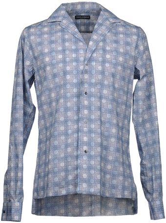 Dolce & Gabbana Long Sleeve Shirt - Lyst