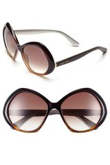 Jimmy Choo 57mm Oversized Sunglasses - Lyst