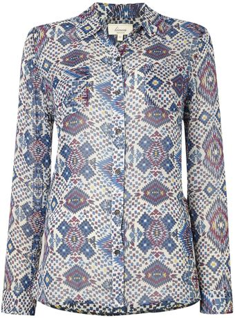 Linea Weekend Chelly Print Shirt - Lyst