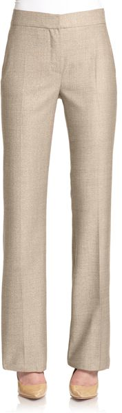 Max Mara Ariete Stretch Cotton Trousers - Lyst