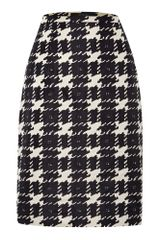 Weekend By Maxmara Knee Length Houndstooth Skirt - Lyst
