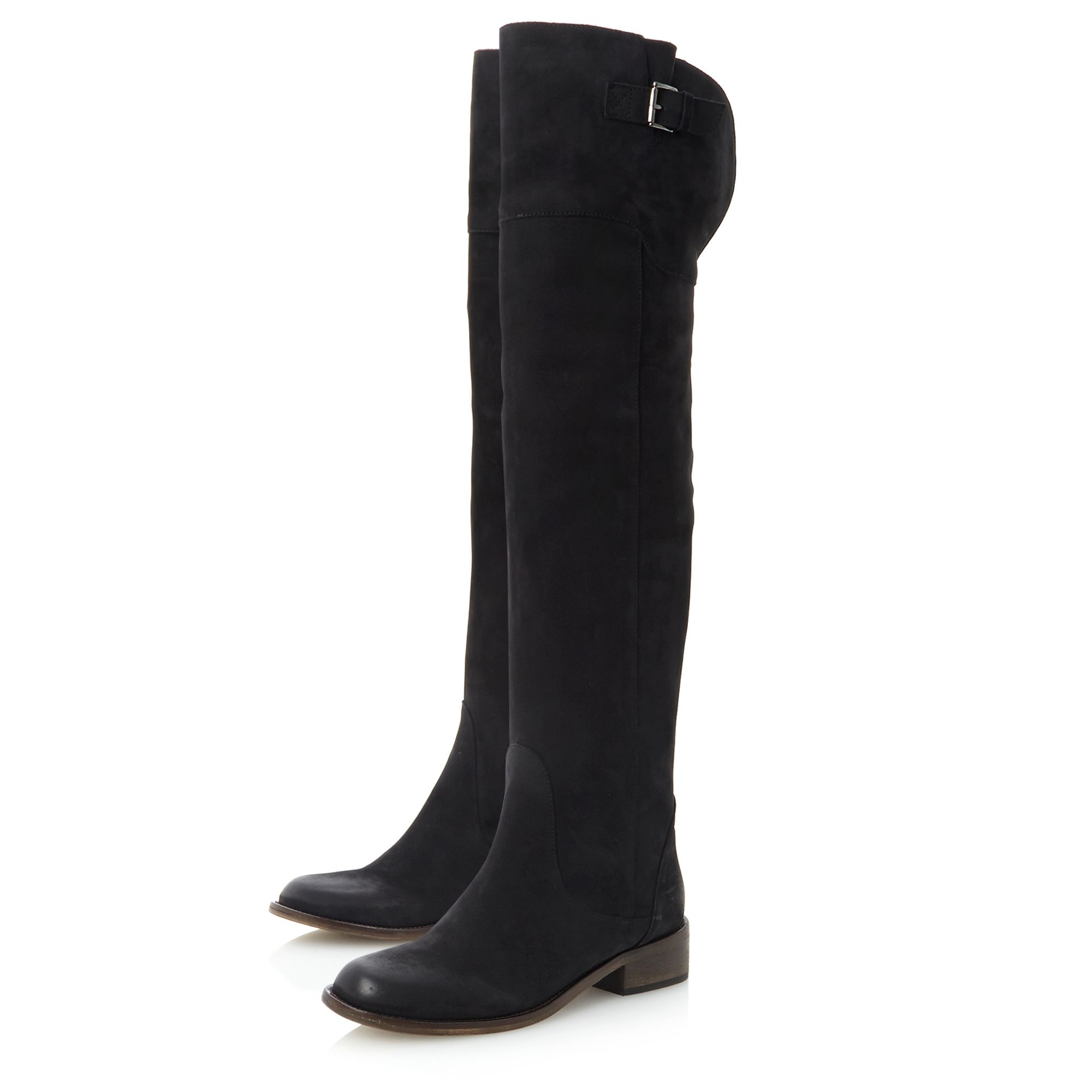 Pied A Terre Pastor Over The Knee Boots In Black Lyst