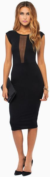 Tobi Ferrah Midi Dress - Lyst