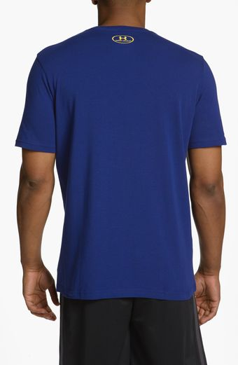 Under Armour Chargedcotton Tshirt - Lyst