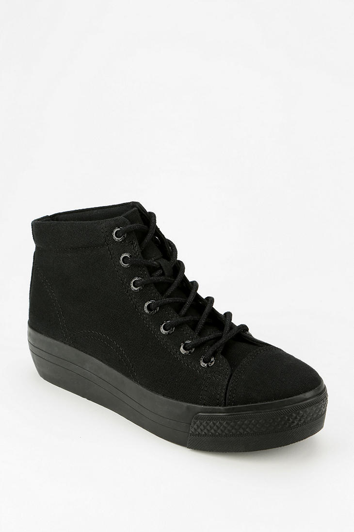 Urban Outfitters Vagabond Holly Platform Wedge Sneaker in Black | Lyst