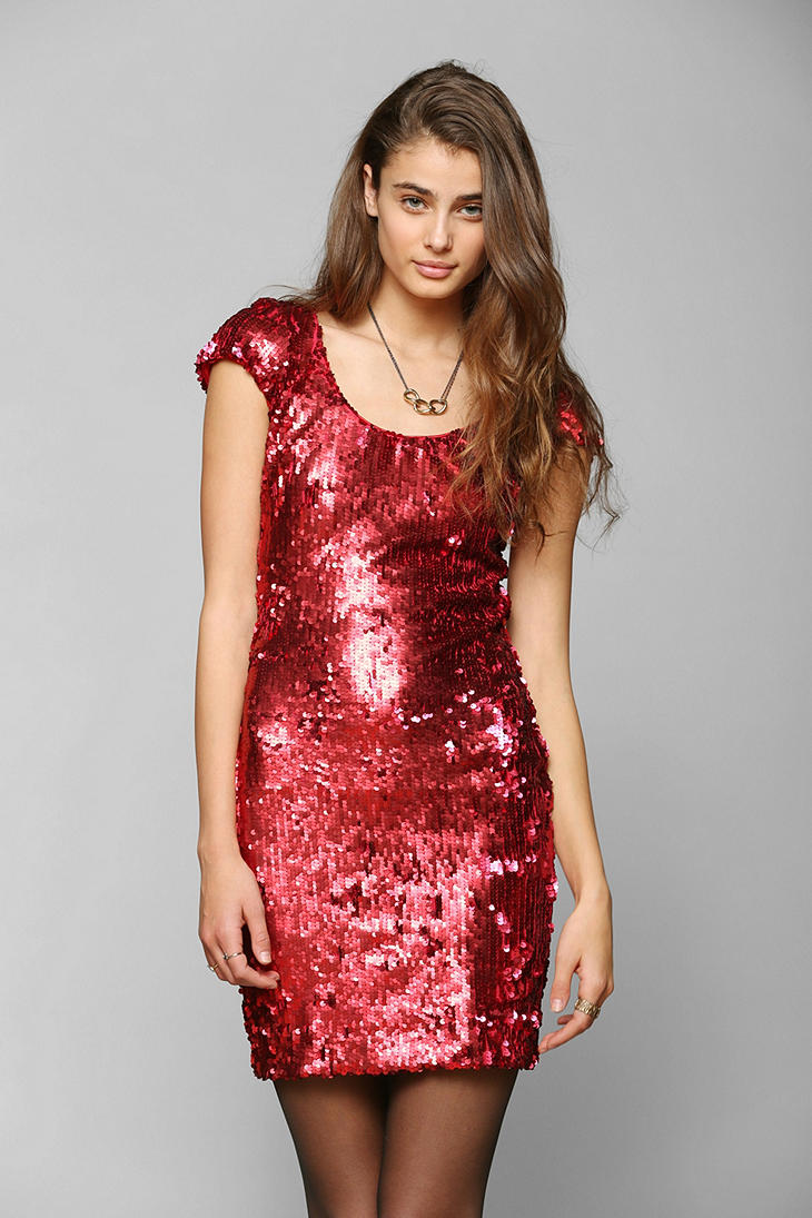 Lyst Urban Outfitters Dress The Population Gabriella