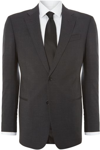 Armani Giorgio Solid Regular Fit Suit - Lyst