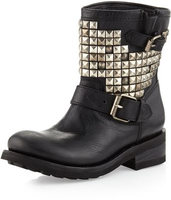 Ash Titanic Studded Boot Black - Lyst