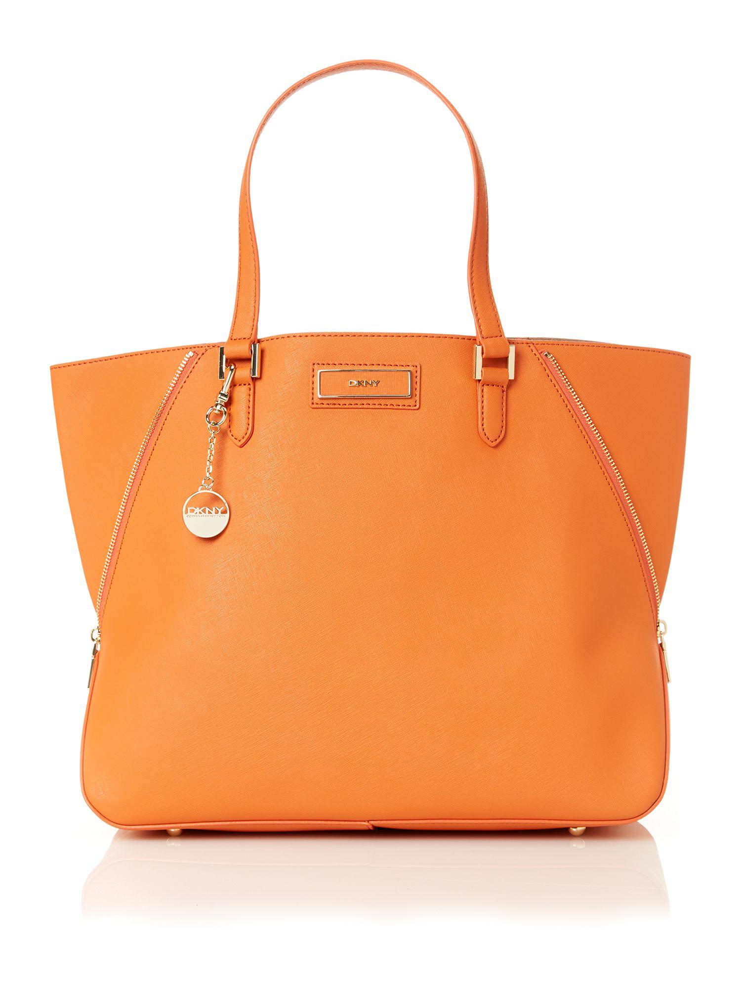 Dkny orange large orange tote bag product jpg 1500x2000 Giant orange  luggage bags 937b0f0e42826