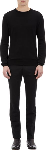 Ralph Lauren Black Label Textured Knit Pullover Sweater - Lyst