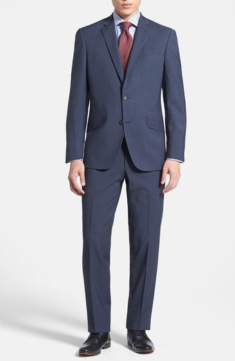 Ted Baker Trim Fit Check Suit - Lyst