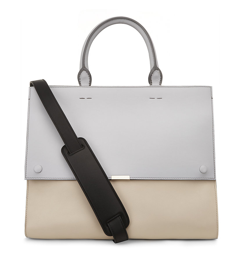 Victoria Beckham Top Handle Soft Tote in White