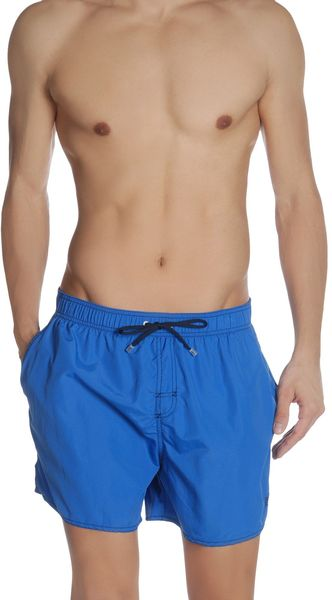 Boss Black Swimming Trunks - Lyst