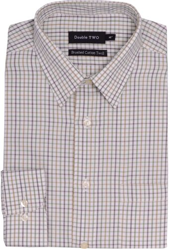 Double Two Long Sleeve Formal Shirt - Lyst
