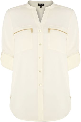 Episode Zip Pocket Shirt - Lyst