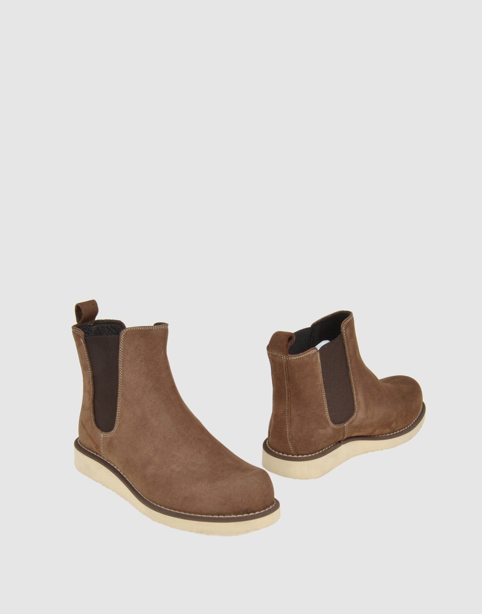 frank ankle boots in khaki save 74 lyst