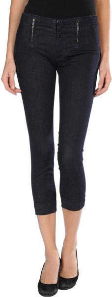 Genetic Denim Denim Capris - Lyst
