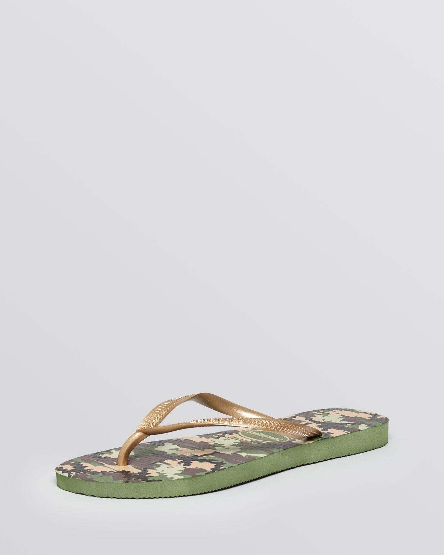 98a9dbabd Lyst - Havaianas Flip Flops - Slim Camuflada in Green