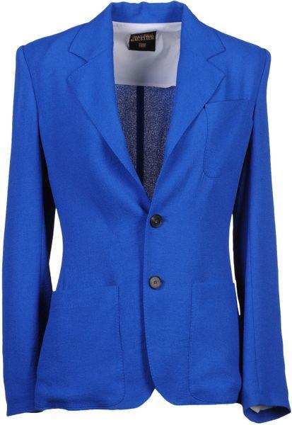 Jean Paul Gaultier Blazer in Blue