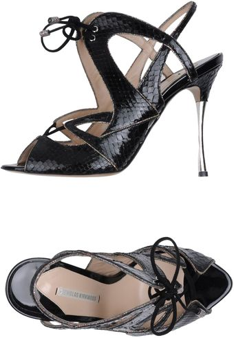 Nicholas Kirkwood Highheeled Sandals - Lyst