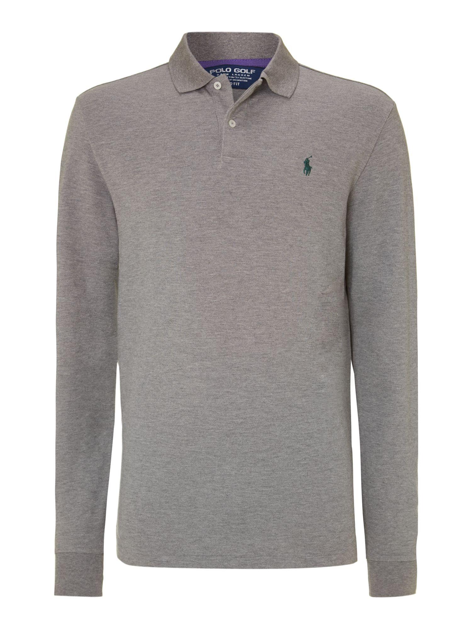 Polo Ralph Lauren Golf Classic Long Sleeve Polo Shirt In