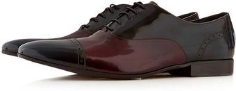 Topman Tri Coloured Lace Up Shoes - Lyst
