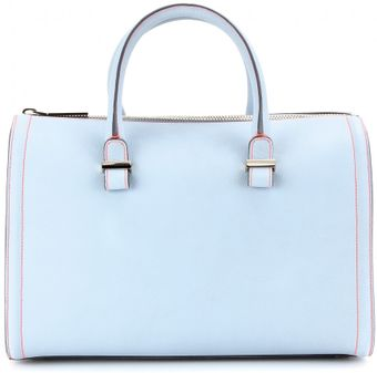 Victoria Beckham Victoria Mini Leather Tote - Lyst